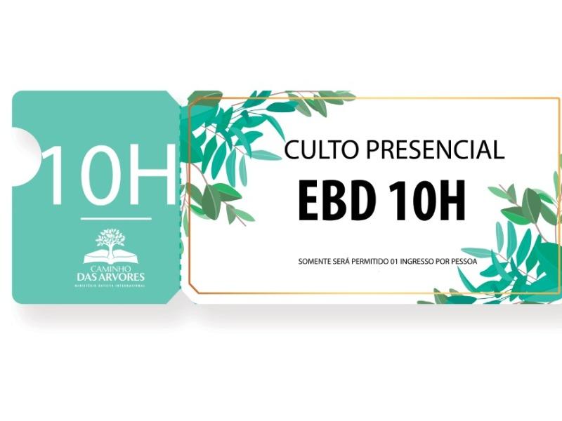 CULTO EBD - 10H