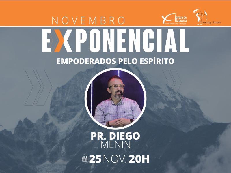 ITAQUERA - 20h - Pr. Diego Menin