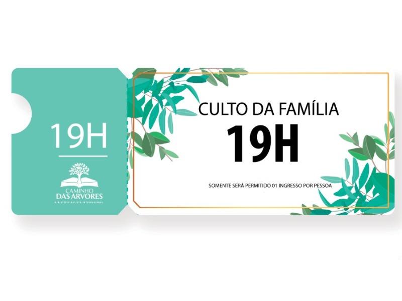 CULTO OFIR- 19H