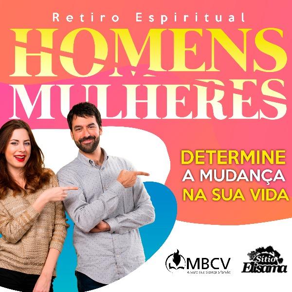 Retiro Espiritual Homens & Mulheres