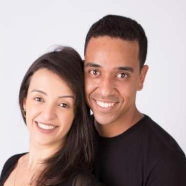 William Ferreira Júnior e Kênia Adams