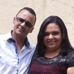 Wemerson dos Santos e Gizela Cristina dos Santos