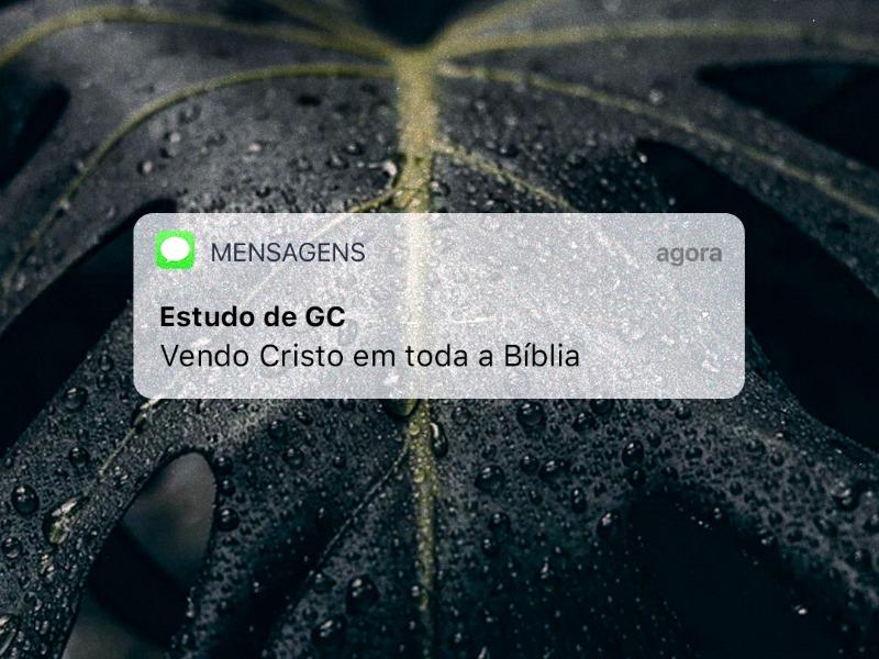 Vendo Cristo em toda a Bíblia