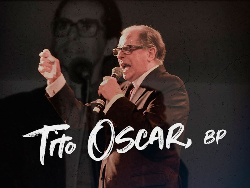 Bispo Tito Oscar, 53 anos de ministério pastoral.