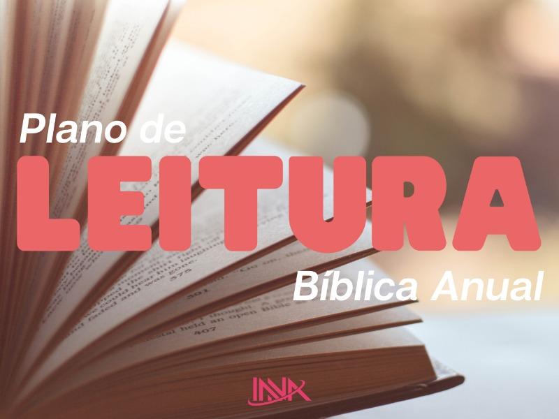 Plano de Leitura Bíblica Anual