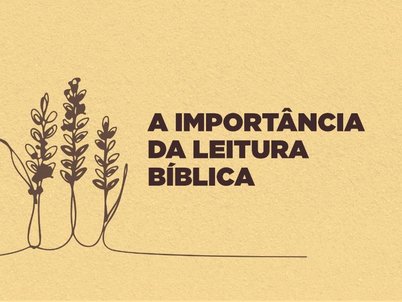 A Importância da Leitura Bíblica
