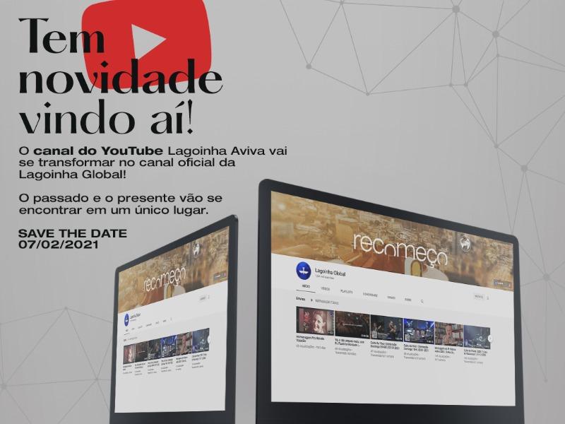 Aviva será o canal oficial da Lagoinha Global