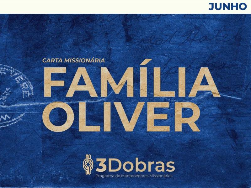 [3Dobras] Carta Missionária - Família Oliver