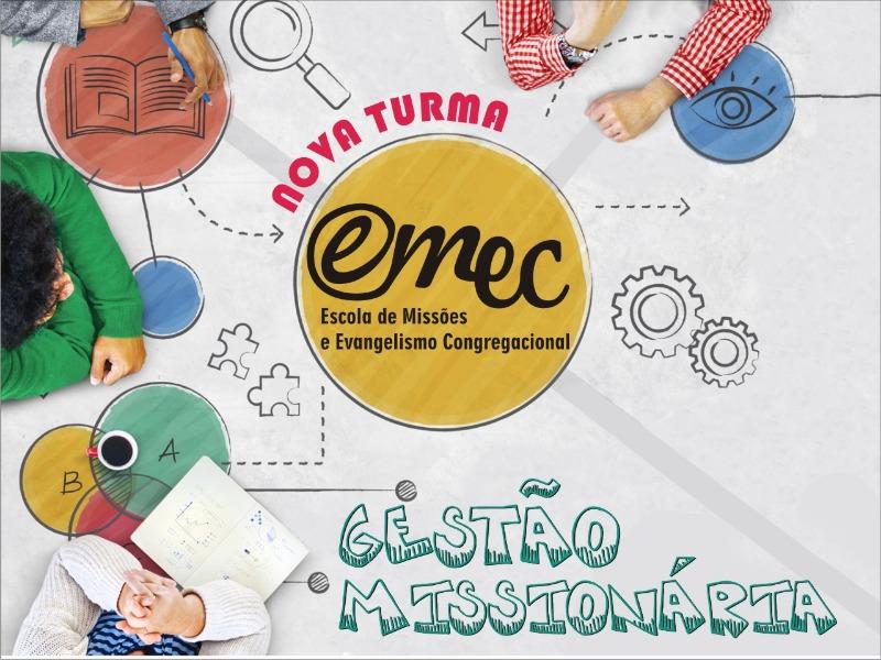 Nova Turma do Curso de Gestão Missionária da EMEC