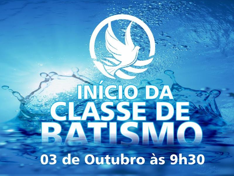 Classe de Batismo