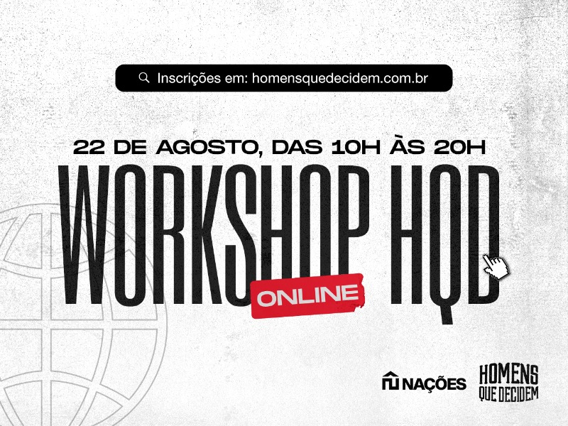 WORKSHOP HQD ONLINE 🌐
