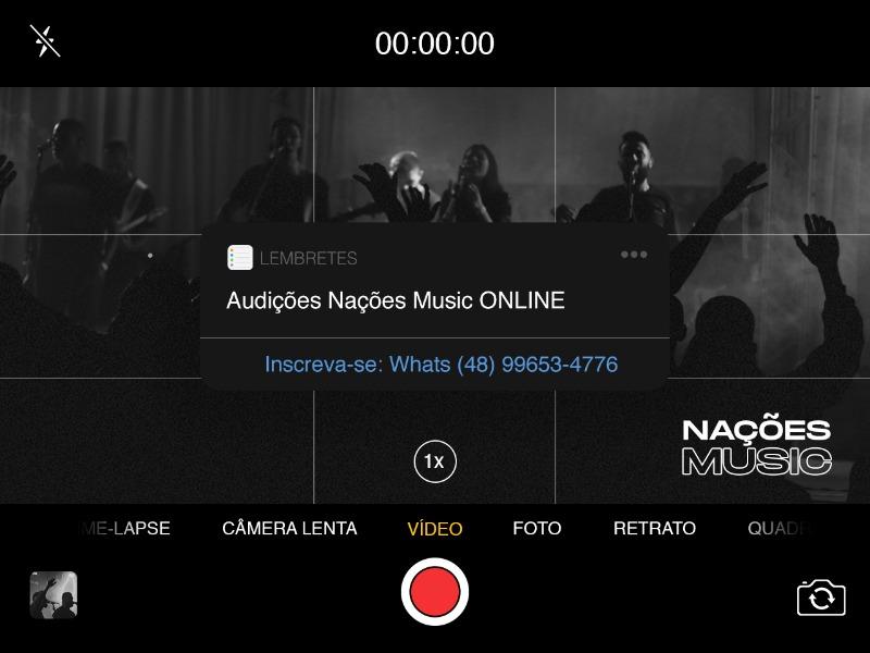 Nações Music | AUDIÇÕES ONLINE