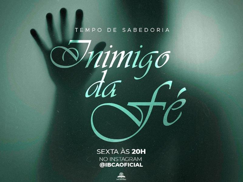 LIVE TEMPO DE SABEDORIA 04/06/21