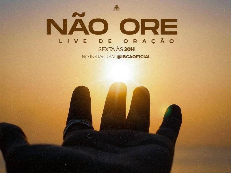 LIVE DE ORAÇÃO - 09/04/21