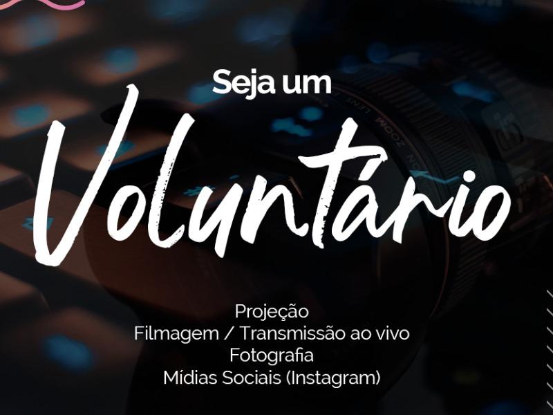 Seja um voluntário no Ministério de Comunicação!