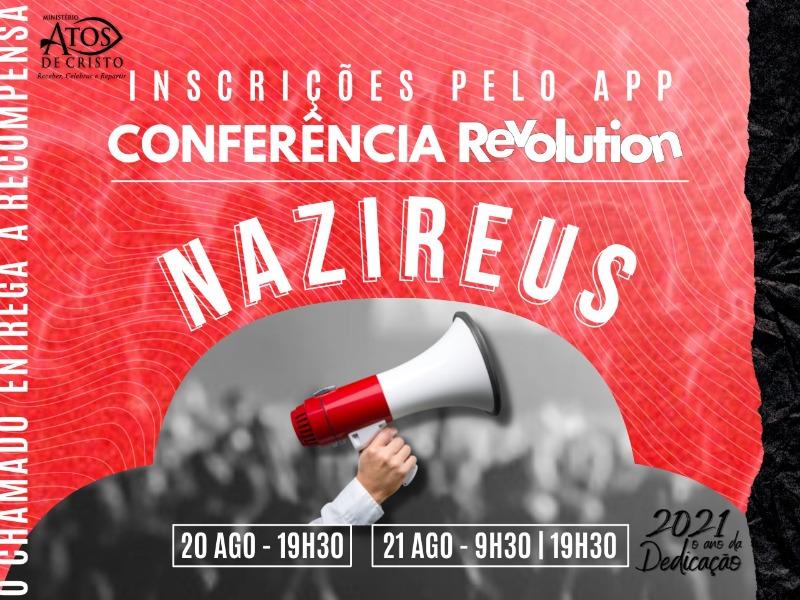 CONFERÊNCIA REVOLUTION