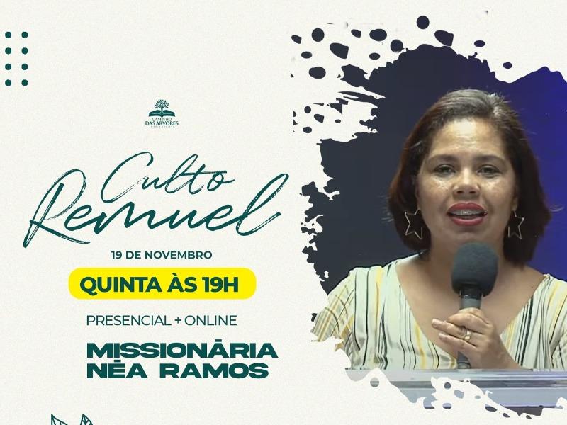 CULTO REMUEL 19/11