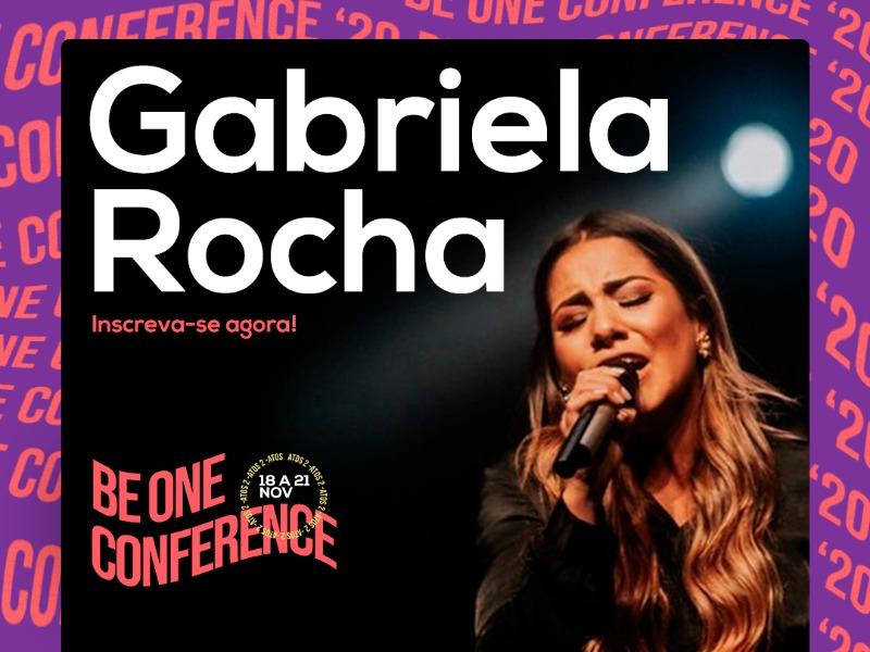 Ela é presença confirmada no #BeOneConference!