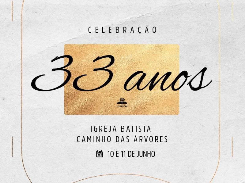 CELEBRAÇÃO 33 ANOS DA IBCA