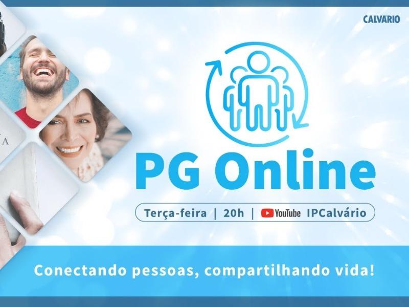 Nosso PG Online está de volta!