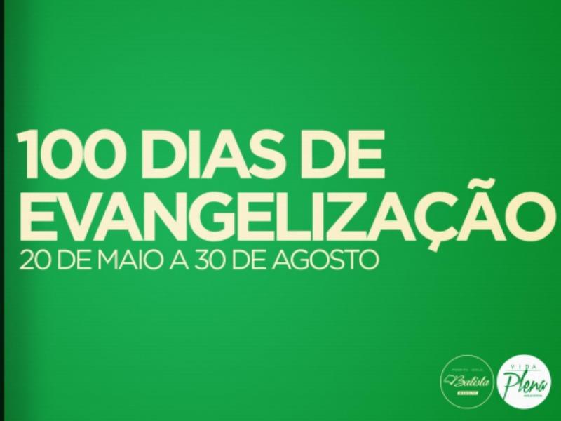 Projeto 100 Dias de Evangelismo