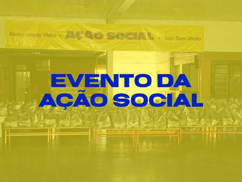 AÇÃO SOCIAL!