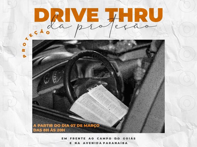 Drive Thru da proteção