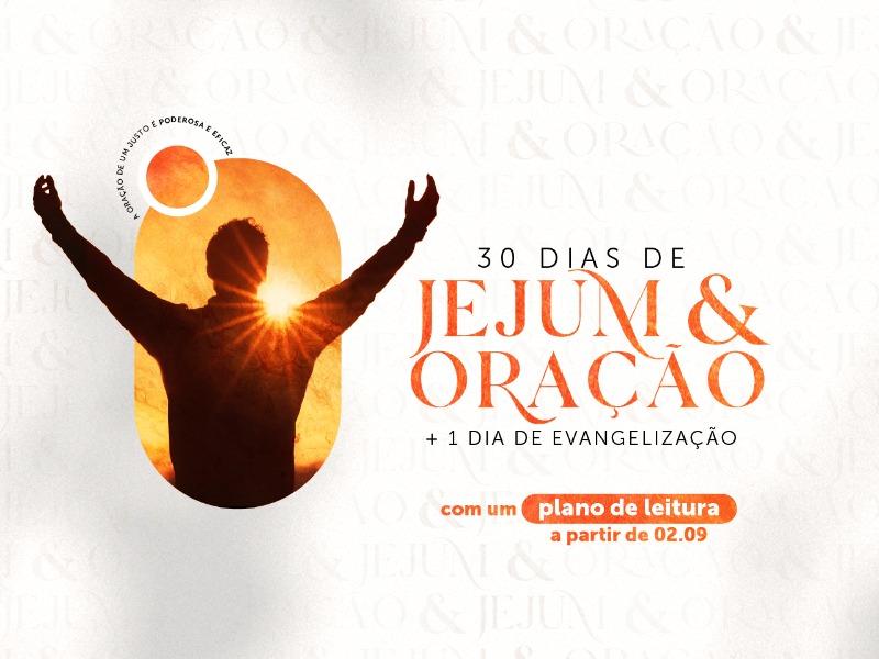 30 dias de Jejum & Oração