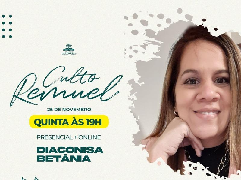 CULTO REMUEL 26/11
