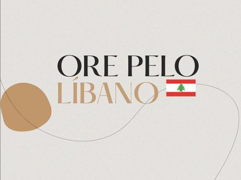 Ore pelo Líbano