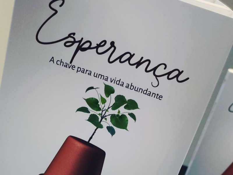 Lançamento do livro ESPERANÇA