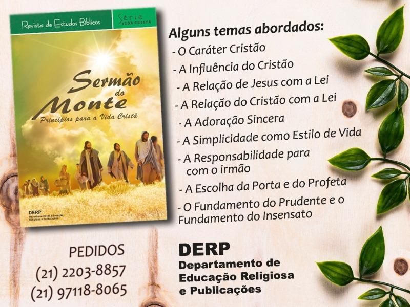 DERP lança nova reviste de Estudos Bíblicos
