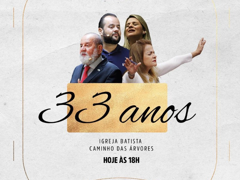 PARABÉNS IBCA PELOS 33 ANOS DE VIDA!