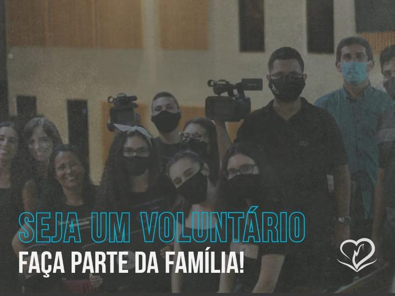 Seja um voluntário da Multimídia IBCA