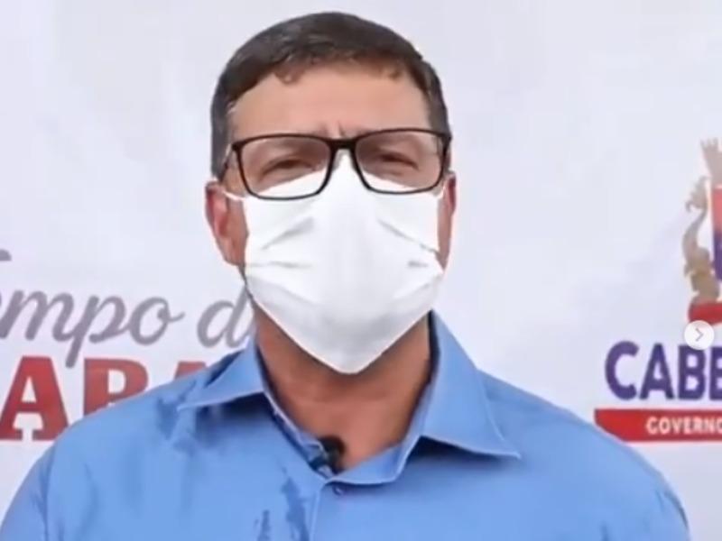 Prefeito paraibano convoca jejum de autoridades