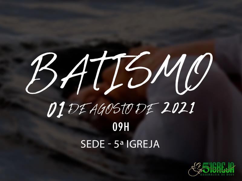 BATISMO E CEIA DO SENHOR