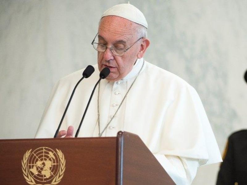 Papa: a fome no mundo é um escândalo