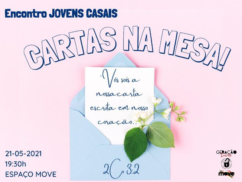 ENCONTRO DE JOVENS CASAIS - CARTAS NA MESA!