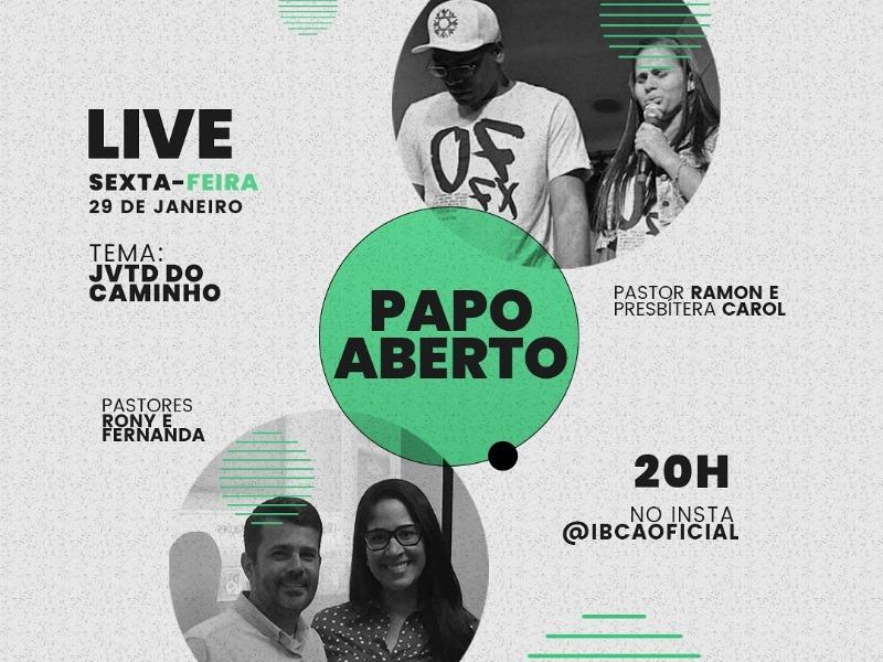 LIVE PAPO ABERTO