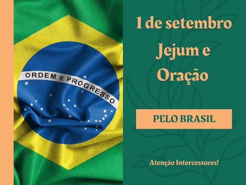 1 de Setembro | Oração pelo Brasil