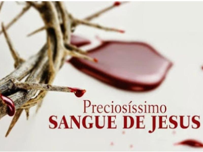 Mês do Preciosíssimo Sangue de Jesus