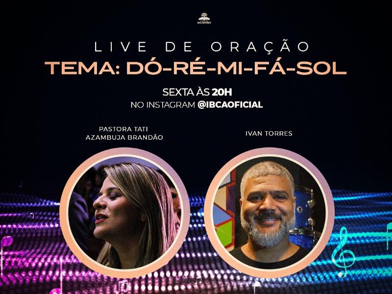 LIVE DE ORAÇÃO COM A PRA TATIANA AZAMBUJA BRANDÃO