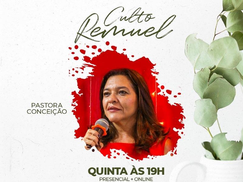 CULTO REMUEL 13/05/21