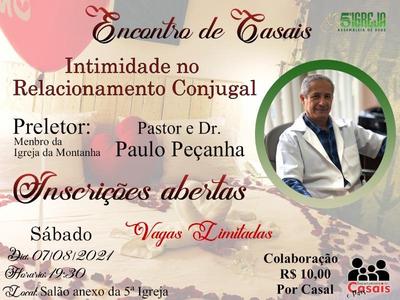 ENCONTRO DE JOVENS CASAIS - 07/08/2021