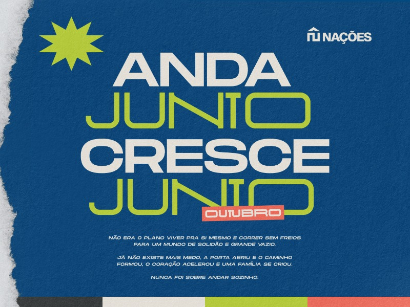 Nova Série | ANDA JUNTO, CRESCE JUNTO