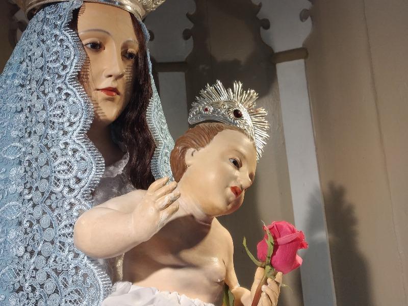 Encerramento mês Mariano na Igreja Nossa Sra Parto
