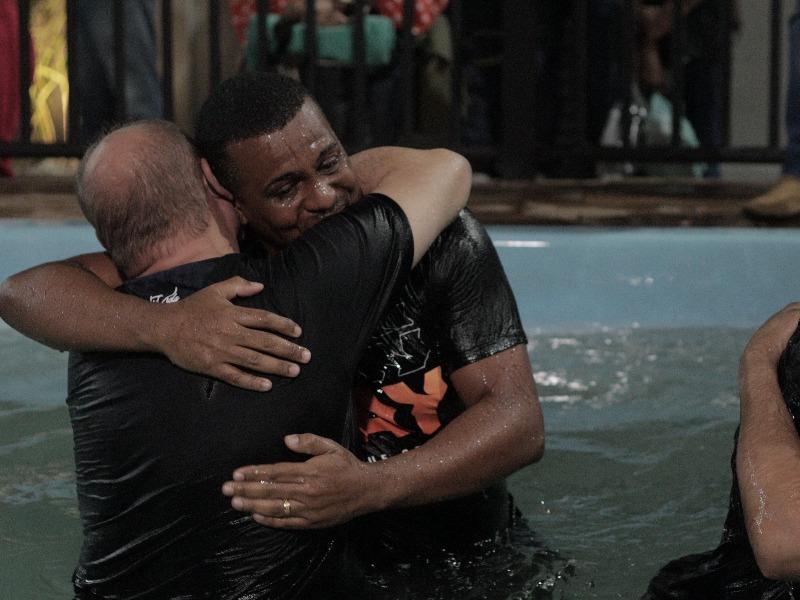 Fotos do Batismo