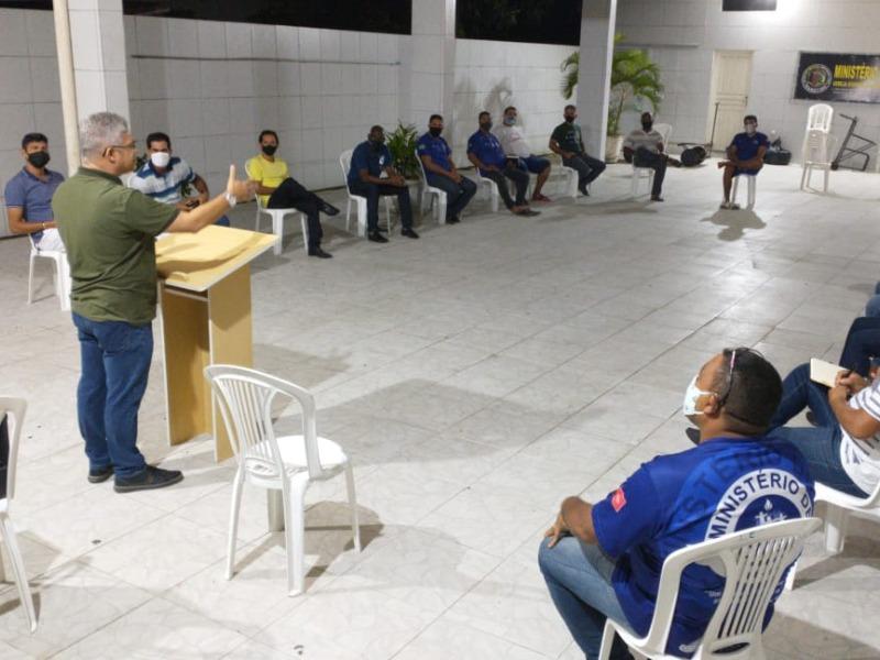 REUNIÕES PRESENCIAIS DO MINISTÉRIO DE HOMENS