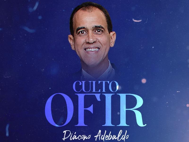 CULTO OFIR 16/09