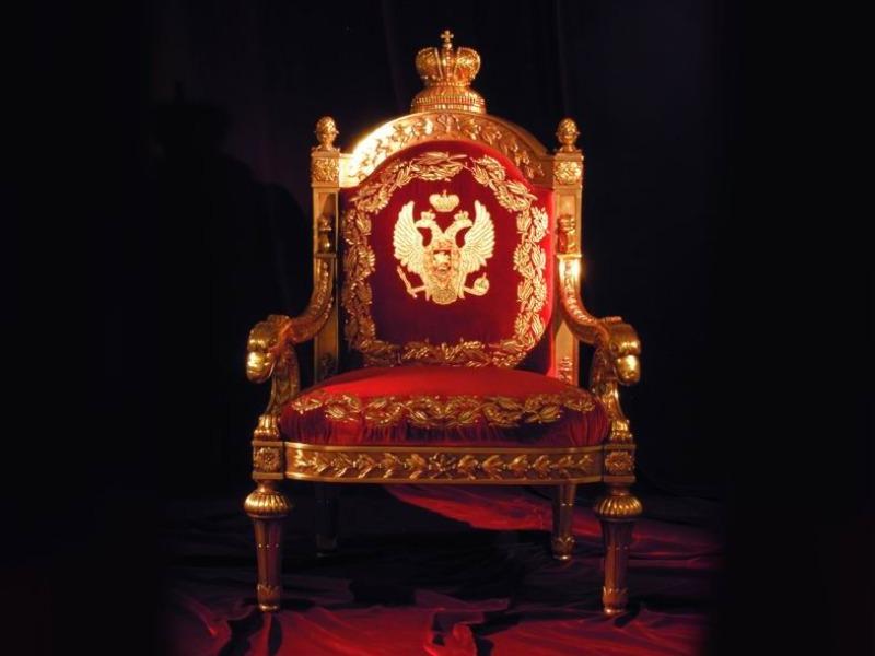 Não haverá tronos vazios!